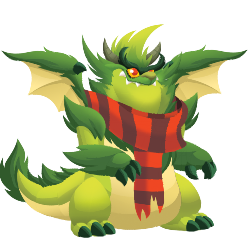 Appearance of Grinchy Dragon when adult