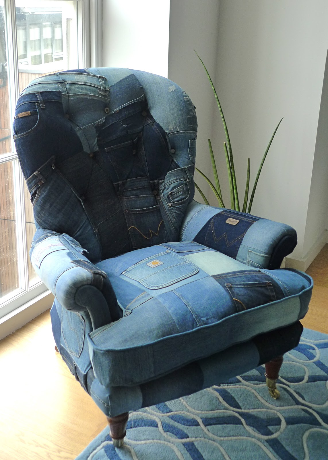 Denim Chairs Jo Price Upholstery 43 Design Our Latest Commission