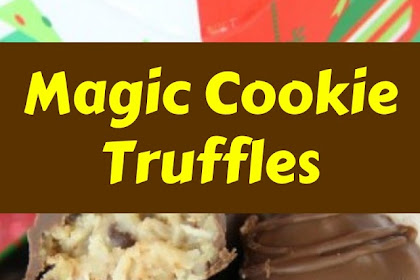 Magic Cookie Truffles #christmas #cookies