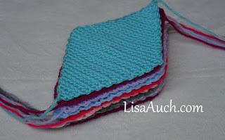 diamond scrap yarn blanket crochet pattern