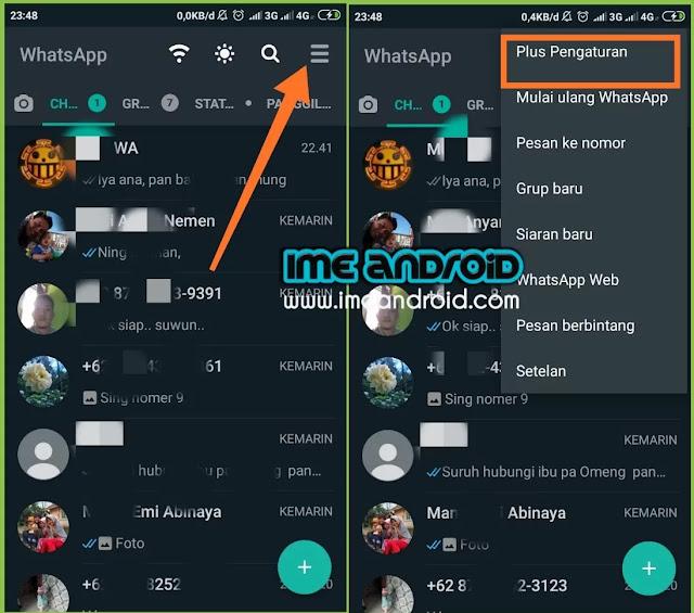 Cara memperbarui WhatsApp plus versi update