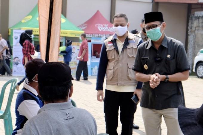Pelaksanaan Vaksinasi di Kota Depok Semakin Masif