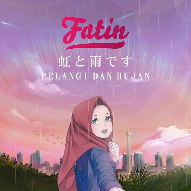 Pelangi Dan Hujan Dari Fatin dengan nuansa City Pop Jepang