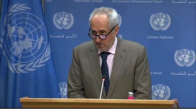 """⭕️  ستيڤان دوجاريك : """"ما زلنا نتوصل بتقارير من المينورسو حول إستمرار الإشتباكات المسلحة في مناطق مختلفة من الصحراء الغربية"""""""