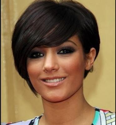 potongan rambut pendek untuk rambut tebal