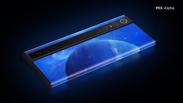 Xiaomi Showing Off Futuristic Smartphones, Mi Mix Alpha