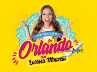 Cadastrar Promoção Tele Sena Larissa Manoela Viagem Orlando 2020