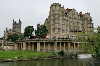 Bath, Parade Gardens.