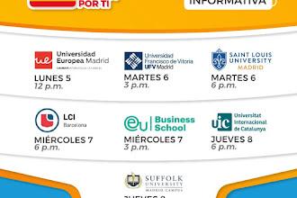 Semana Española - Sesiones informativas con International Learning