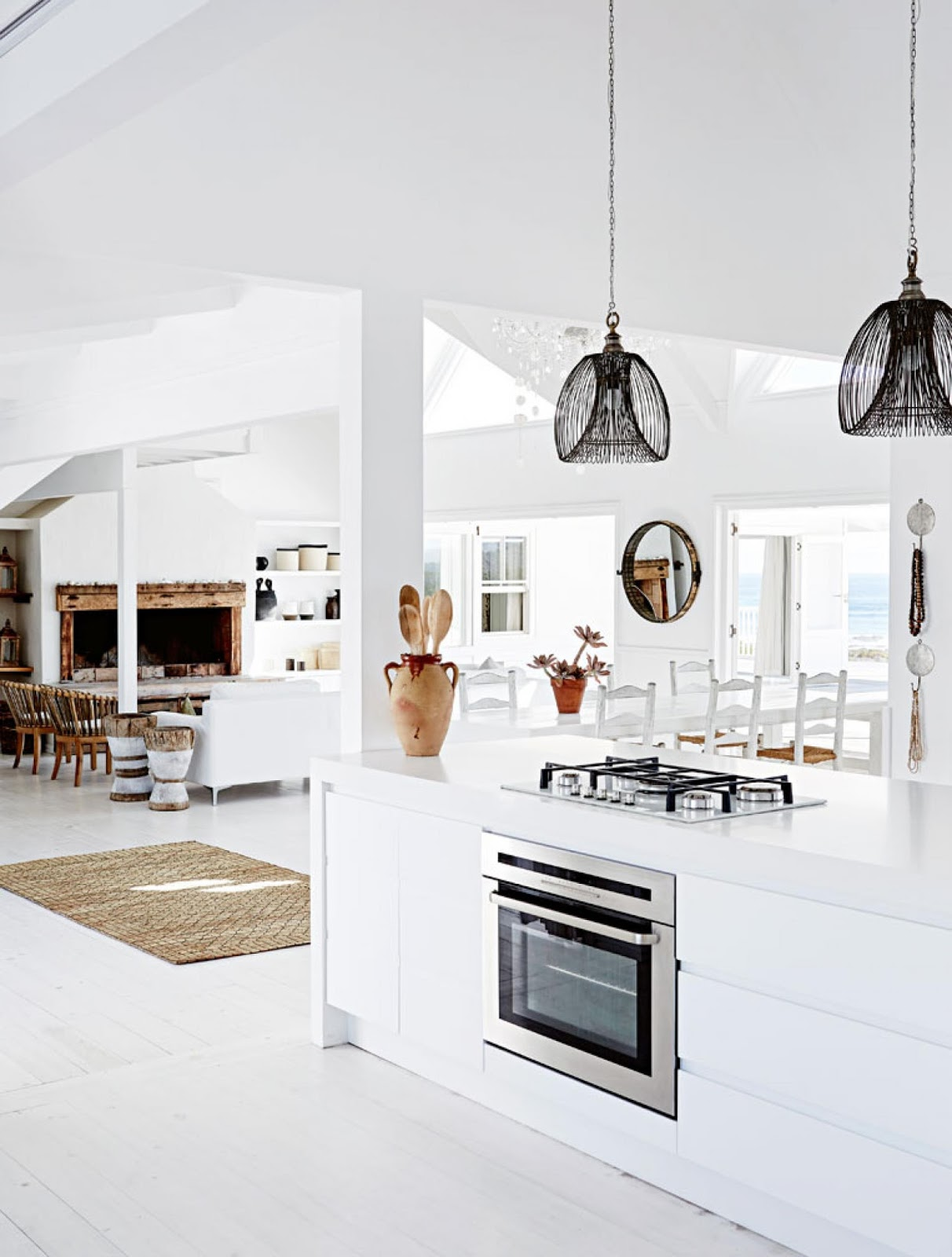 Coastal style south african dream house for Beautiful kitchen designs in south africa
