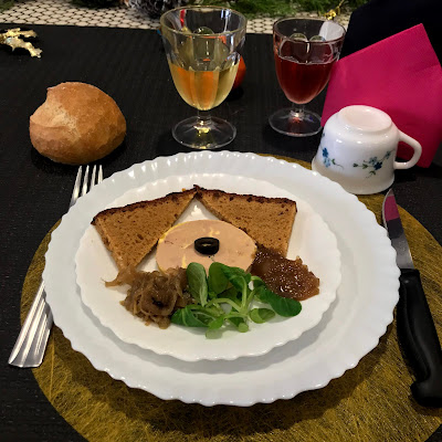 French Village Lockdown Diaries day forty Covid-19 update Advent day eight le foie gras