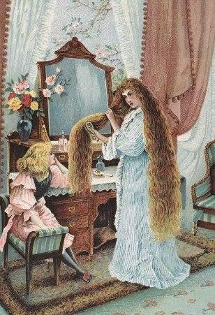старинные средства для укладки волос