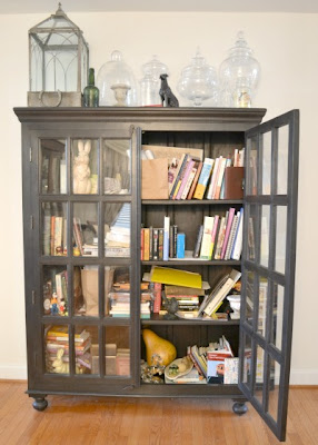 The Freestanding Bookcase Is A Favorite Piece That Sits In Our Hall Entry It Was Supposed To House Books Collections Items S 4 Feet Wide By