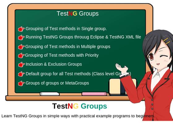 TestNG groups