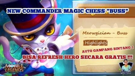commander terbaru magic chess