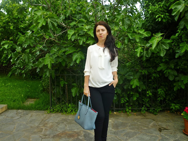 biala koszula stylizacja