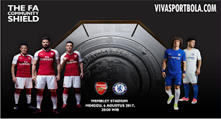 Prediksi Chelsea vs Arsenal 6 Agustus 2017