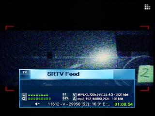 biss key SRTV Feed 2018