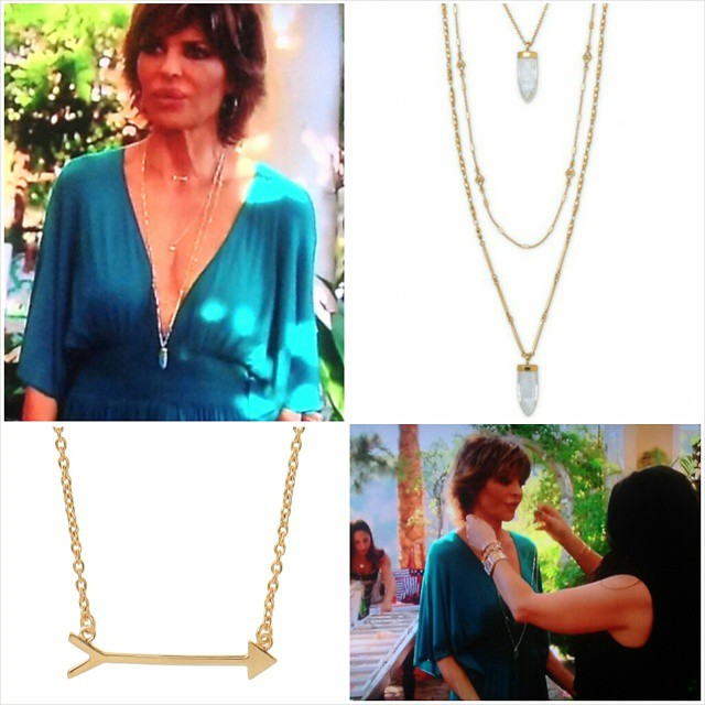 Lisa Rinna Jewelry Party Look
