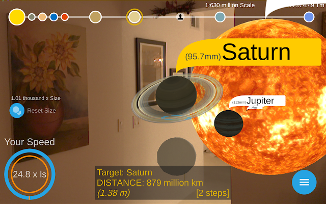 Google Developers Blog Travel Through Space With The