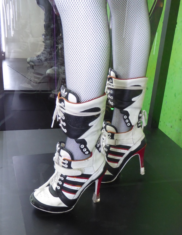 Suicide Squad Harley Quinn costume heels