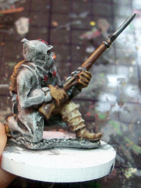 Painting Winter War Soviet 28mm Baker Company miniatures