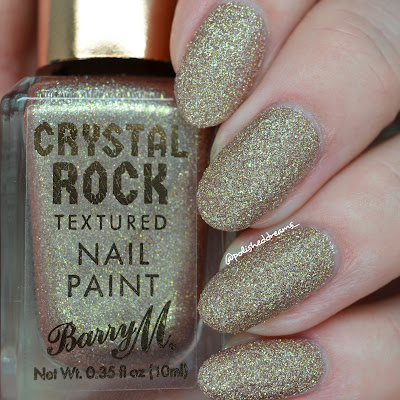 Barry M Crystal Rock Collection A/W 19 Tiger Eye