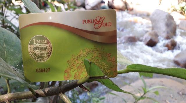 1 Dinar Public Gold