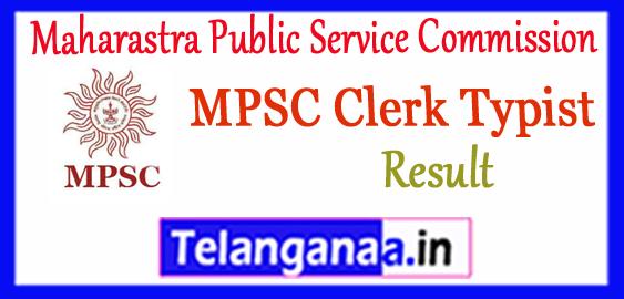 Maharastra Public Service Commission Clerk Typist Prelims Result 2017-18 Cutoff
