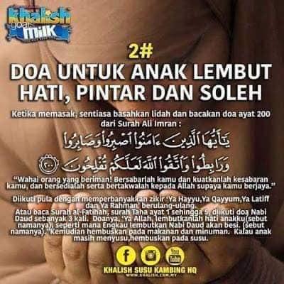 koleksi doa untuk anak lembut hati baik bijak