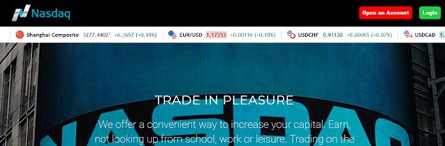 Мошеннический сайт nasdaq-market.trade