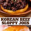 KOREAN BEEF SLOPPY JOES