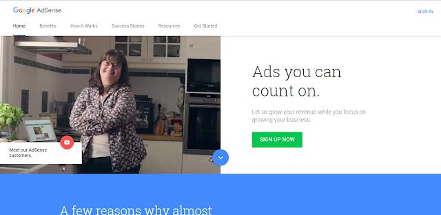 Cara Mudah Di Terima Google Adsense