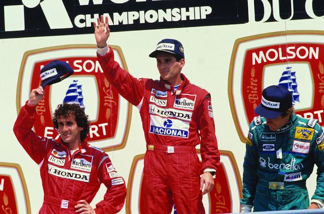 Senna i Prost - Montreal 1988
