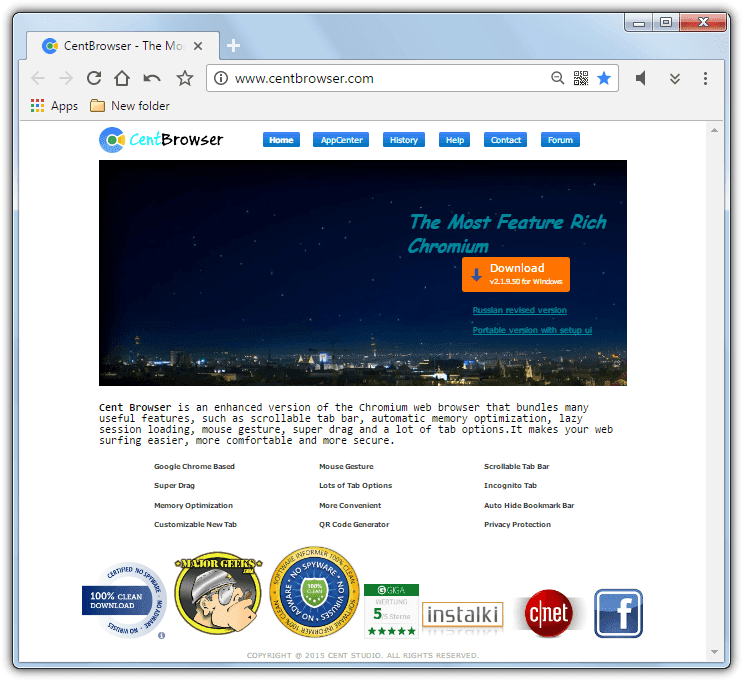 تحميل متصفح الويب