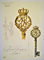 Klucz do Sali Balowej Zamku Królewskiego