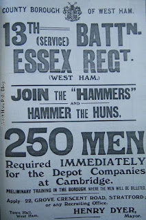 c8b3d0dbd5d56 The Hammers Battalion story - unit for many local men