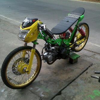 Modifikasi Motor Drag Kirana Modif Men
