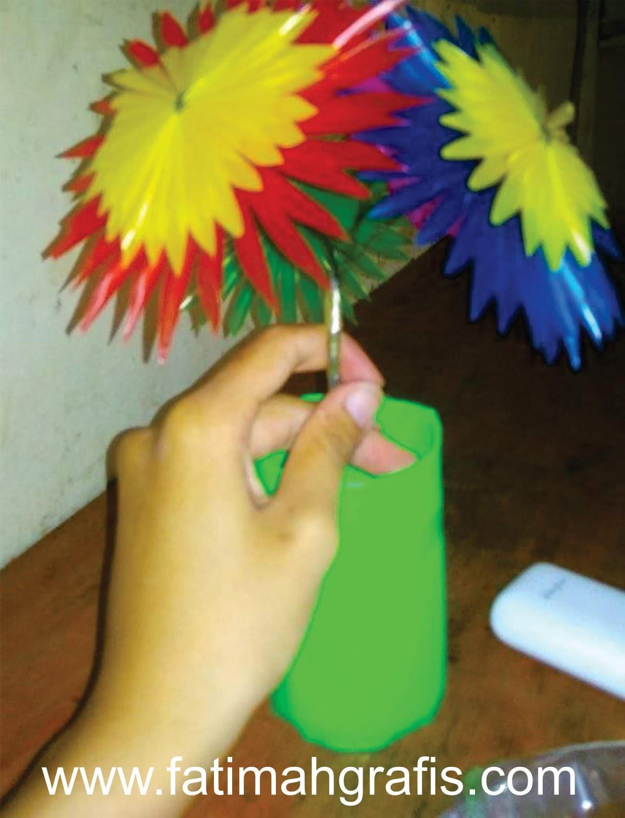 Gampang Sekali Membuat Bunga Dari Sedotan Plastik Fatimah Creatore