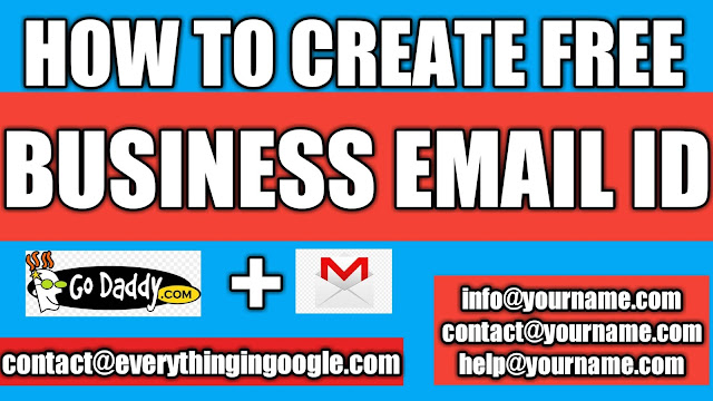 how to create free business email id