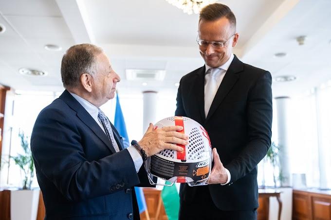 A közlekedésbiztonságról is tárgyalt Szijjártó Péter az FIA elnökével