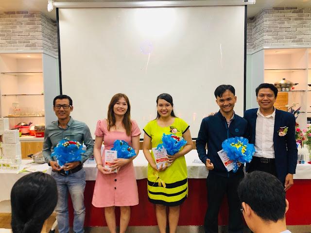 Triệu Hoàng Tình đạt thành tích đầu tiên tại Amway Việt Nam - NPP 6%