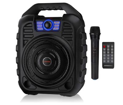EARISE T26 Portable PA System Bluetooth Speaker & Wireless Microphone Karaoke Machine