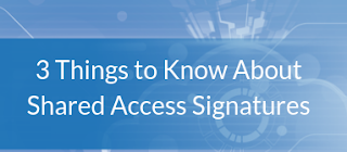 How to Protect an Azure Storage Account using Shared Access Signatures