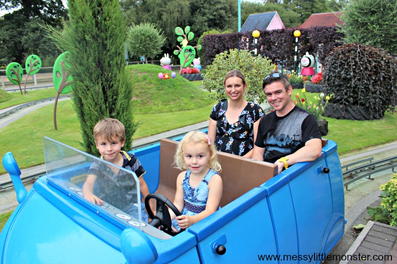 Paultons park family theme park rides