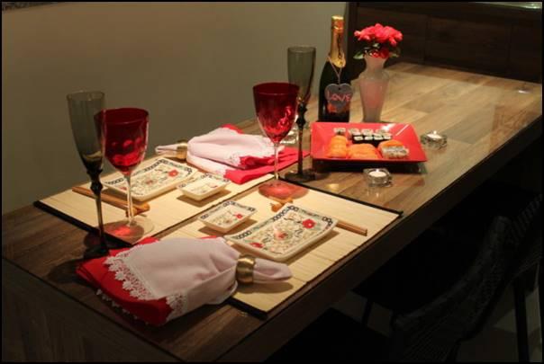 jantar japonês dia dos namorados