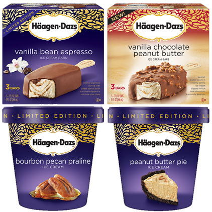 Haagen dazs single serve gelato