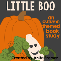 Little Boo wants to be scary...but has to wait til he's bigger to achieve this! This set of book study companion activities is for Kindergarten and First Grade