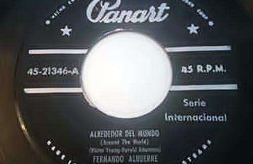 Alrededor Del Mundo   Fernando Albuerne Lyrics