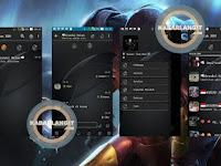 Download BBM Mod Dark Grey Clone V3.0.0.18 Apk